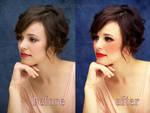 Rachel McAdams retouch