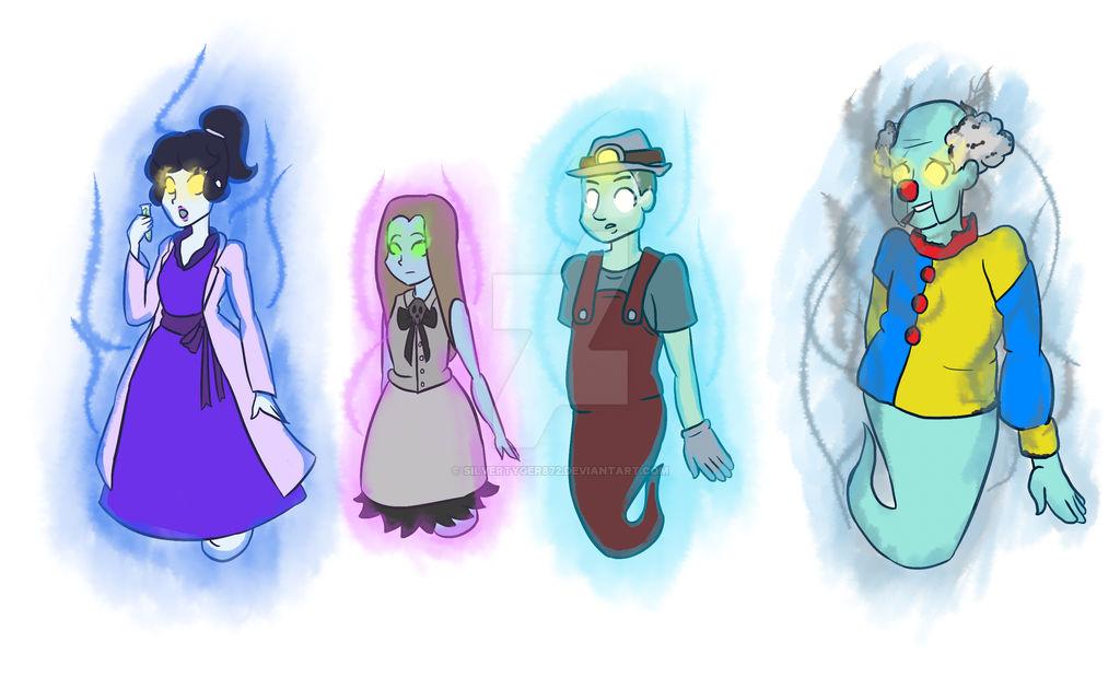 Luigi S Mansion Ghosts By Silvertyger872 On Deviantart