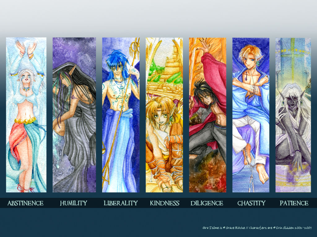 The Seven Rulers of Heaven by AzraelEvangeline