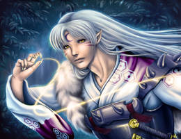 Sesshomaru by Blind-Leviathan