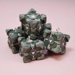 Polymer Clay Companion Cubes