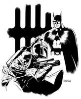 Batman vs. Boba Fett by BrianChurilla