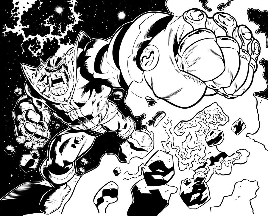 The Avengers and the Infinity Gauntlet, pages 2-3 by ...