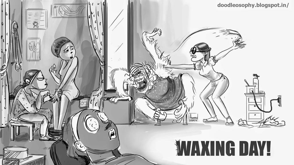 Waxing Day by AnamikaB
