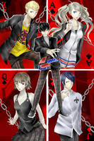Persona 5 by Exictantial