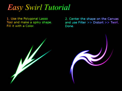 Easy Swirl Tutorial