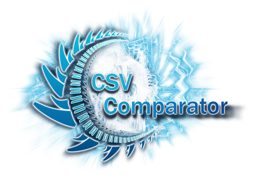 CSVComparator Splash Screen by XResch