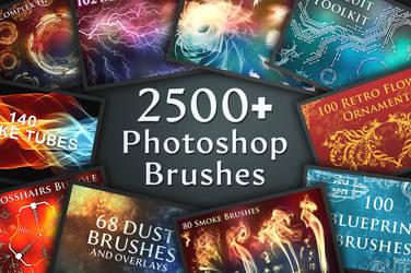 2500+ Photoshop Brushes
