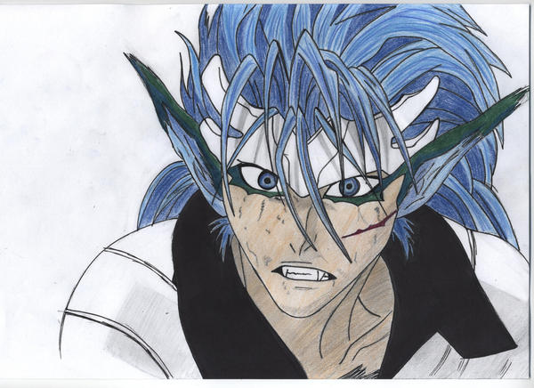 Grimmjow Release Wallpaper Grimmjow in colour by ...
