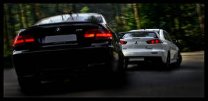 Black Forest Touge Showdown by Caliart
