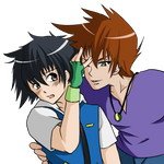 Shigeru teasing Satoshi