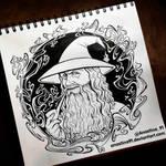 Gandalf the Grey by Anastina91