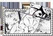 Ganin Akame stamp 2 by svartmoon