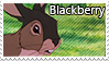 Blackberry stamp by svartmoon