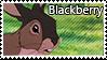 Blackberry stamp by svartmoon