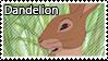 Dandelion stamp by svartmoon