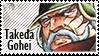 Takeda Gohei stamp by svartmoon