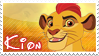 Kion stamp by svartmoon