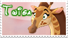 Twiga stamp by svartmoon