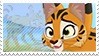 Serval stamp by svartmoon