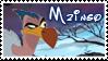 Mzingo stamp by svartmoon