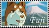 Fuji stamp by svartmoon