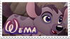 Wema stamp by svartmoon