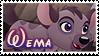 Wema stamp by svartmoon