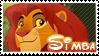 Simba stamp by svartmoon