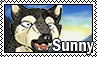 Sunny stamp by svartmoon