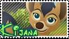 Kijana stamp