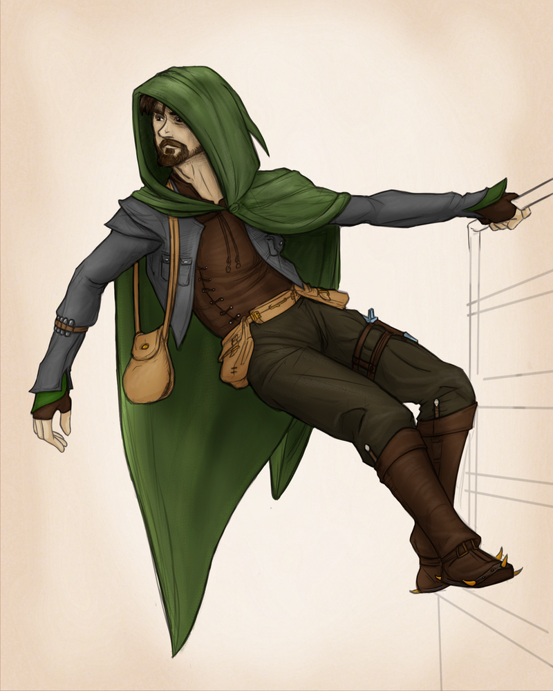 Fletch Greencloak by virgiliArt