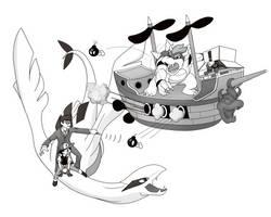 Connecticon Battleship 2013 by virgiliArt