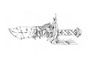 Warhammer 40K - Corrubted Galdius - Sketch