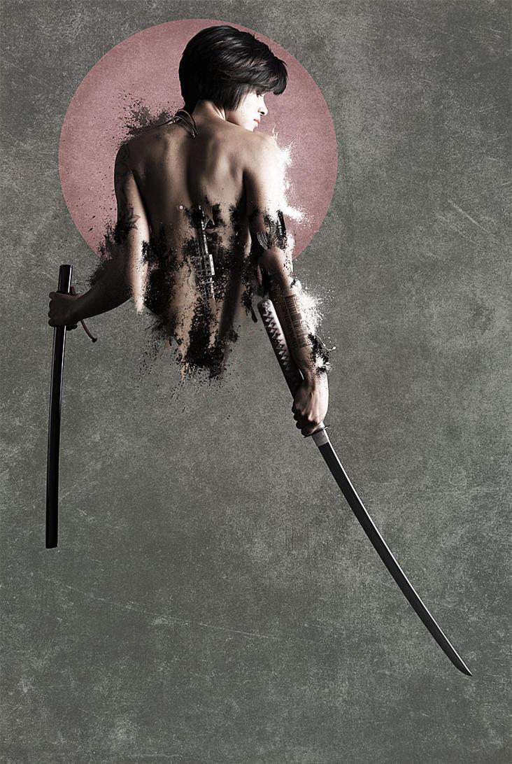 ROBOSexy Samurai by jQuan