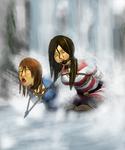 waterfall by Caregan