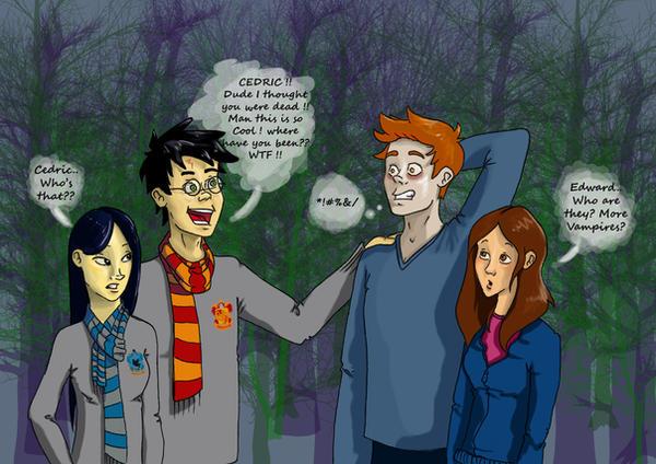 HP x Twilight : Busted. by Minelaaa