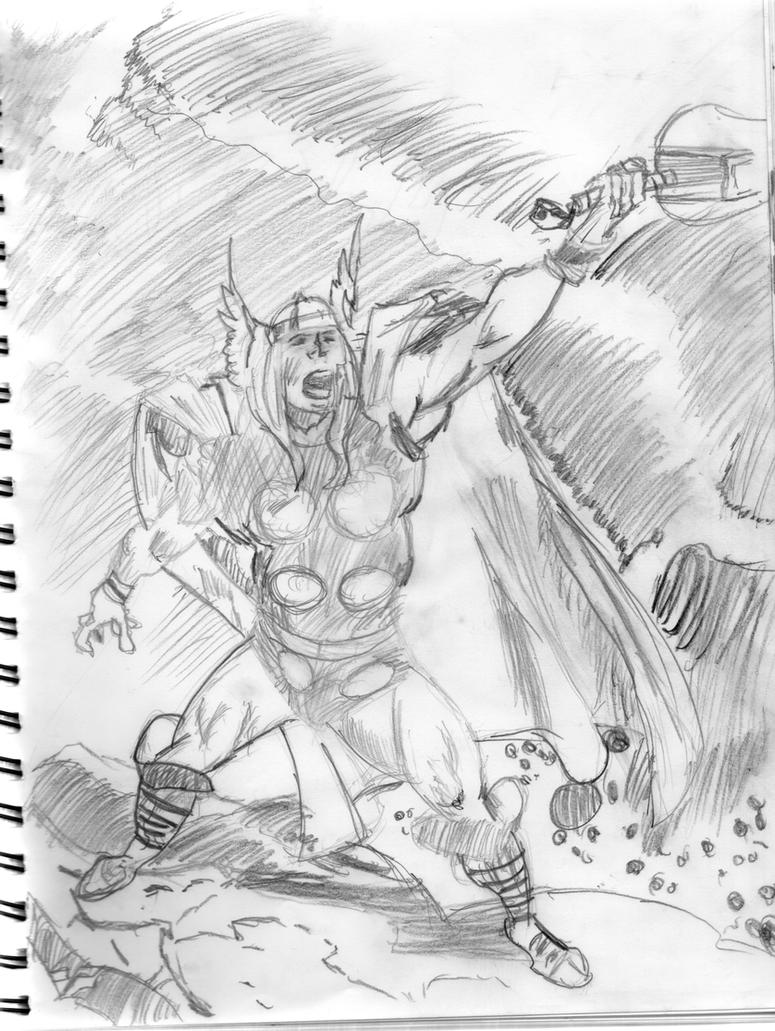 The Mighty Thor by Aconfidentialname