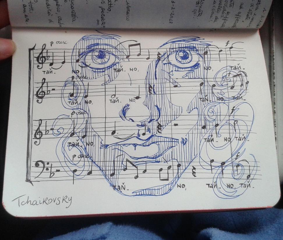 Tchaikovsky by ErmengardaElbereth