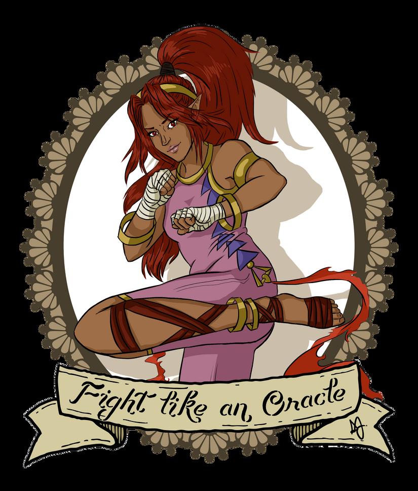 Fight Like An Oracle (Din) by danonx