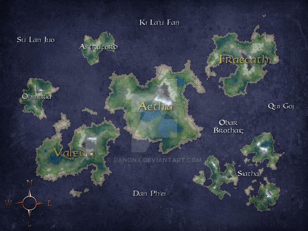 ACM World Map by danonx