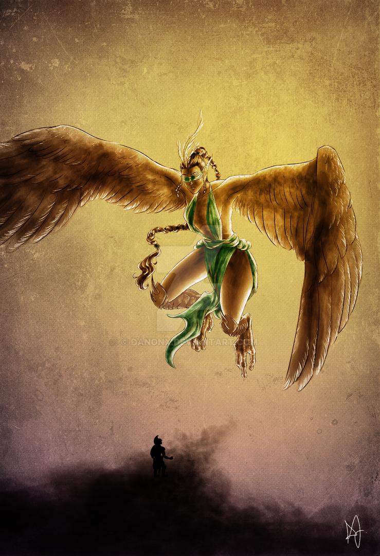 Deltori, the Maiden of Faith by danonx