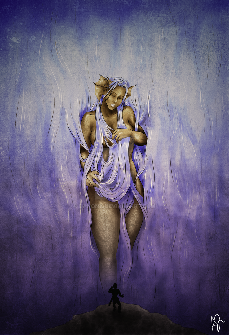 Eirodys, the Mother of Wisdom by danonx