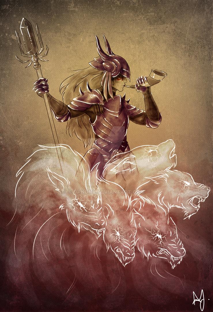 Xiska, the Warrior of Honour by danonx