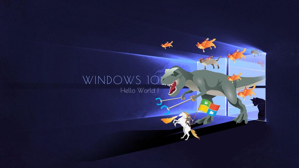 Windows 10 Wallpaper 1920x1080 By Zhalovejun On Deviantart