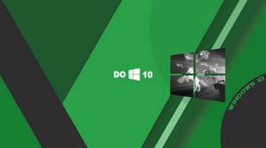 Windows 10 Wallpaper Material Green