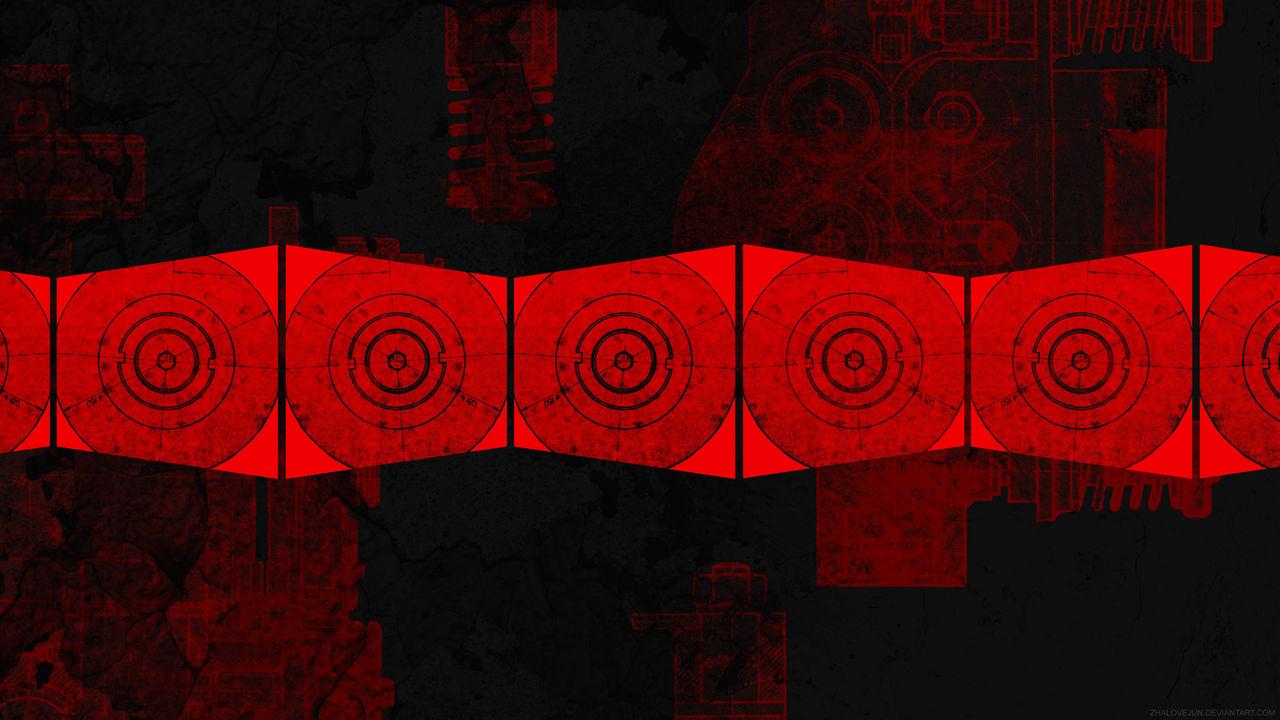 Artech Wallpaper Red