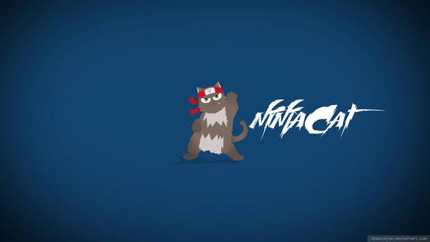 Ninjacatwallblue