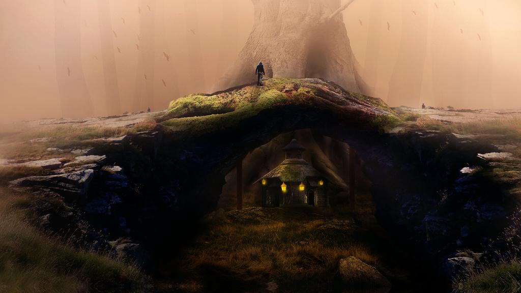 Forbidden Forest by xLocky