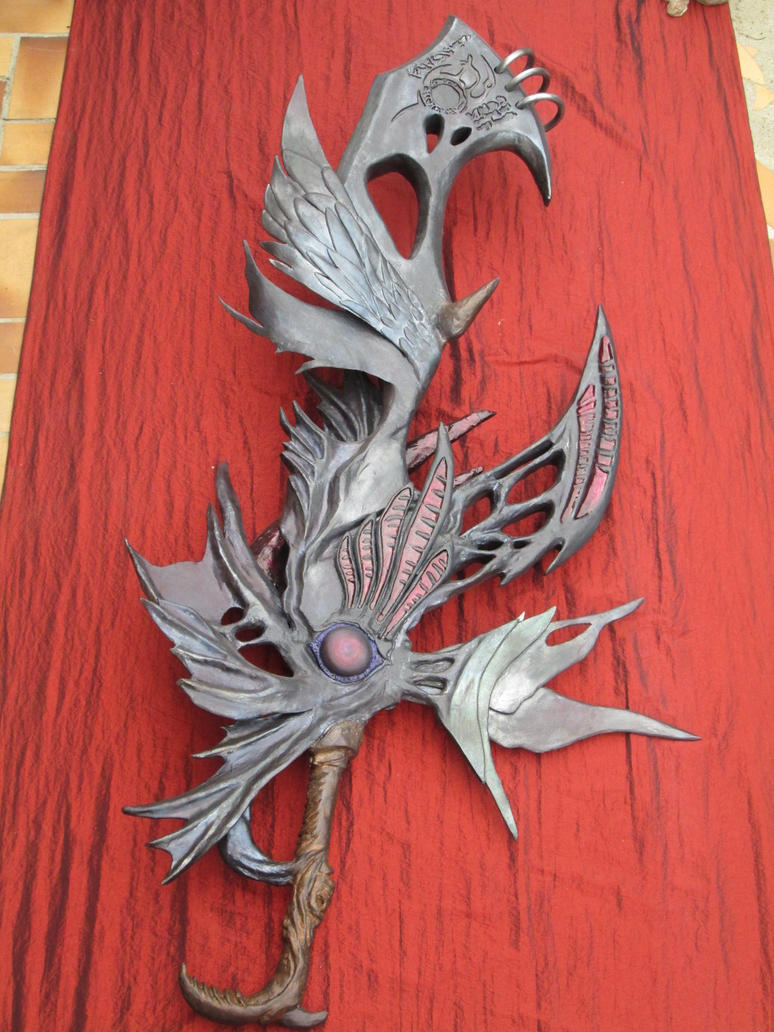 Caius Ballad Sword  Replica: face by Red-Hag